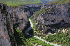 Verdon gorge. Stock Photography