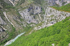 Verdon gorge. Royalty Free Stock Photography