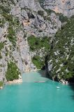 Verdon gorge. Royalty Free Stock Photo