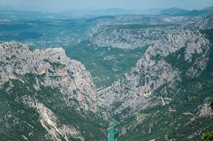 Verdon Gorge Stock Photos
