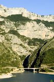The Verdon Gorge Royalty Free Stock Images