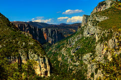 Verdon gorge canion Royalty Free Stock Image
