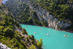 Verdon Gorge_France Obrazy Royalty Free