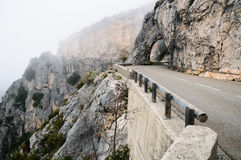 Verdon gorge. Stock Images
