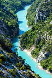 Verdon Gorge. In Provence, France Royalty Free Stock Images