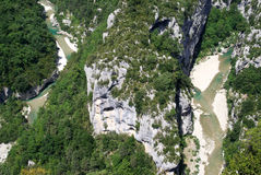 Verdon Gorge Royalty Free Stock Images