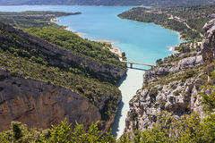 Verdon Gorge Stock Image