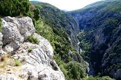 Verdon Gorge Royalty Free Stock Image