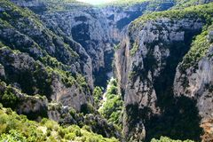 Verdon Gorge Royalty Free Stock Photo
