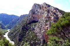 Verdon Gorge Stock Image