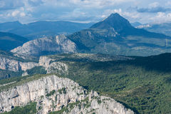 Verdon Gorge Royalty Free Stock Photography