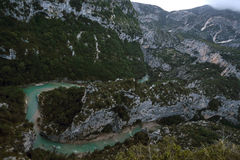 Verdon Gorge Royalty Free Stock Image