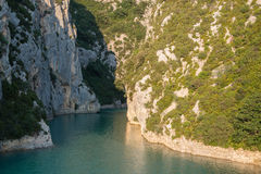 Verdon klyfta, Provence, Frankrike Royaltyfri Bild