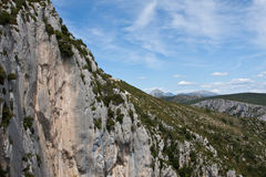 Verdon Mountains Royalty Free Stock Image