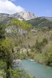 Verdon Natural Regional Park, France Stock Image