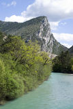 Verdon Natural Regional Park, France stock image