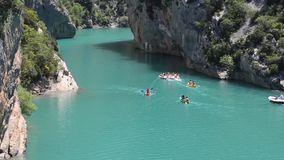 Verdon Schlucht stock video