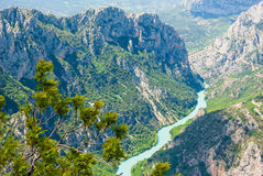Verdon valley Royalty Free Stock Photography