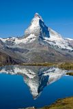 Verdoppelter Matterhorn Stockfoto