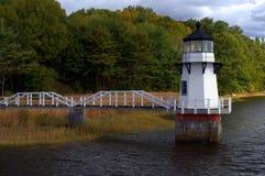 Verdoppelungs-Punkt-Leuchtturm Stockbild