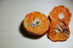 Verdorbene Orange Stockbild