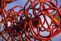 Verdraaid beeldhouwwerk Stock Foto's