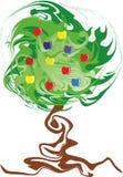 Verdraaid de diversiteitsconcept van de appelboom Stock Foto's