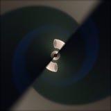 Verdraaide abstracte vormen Stock Foto