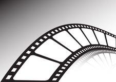 Verdraaide filmstrook Stock Foto