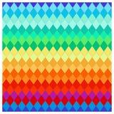 Verdraaide gekleurde strepen Royalty-vrije Stock Fotografie