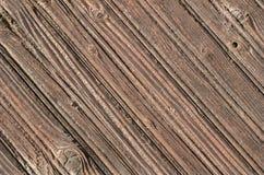 Verdraaide houten korrel Royalty-vrije Stock Foto's