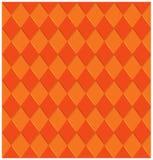Verdraaide oranje strepen Royalty-vrije Stock Afbeelding