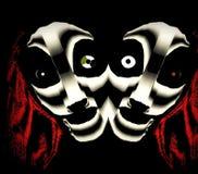 Verdraaide Tweelingzusters vector illustratie