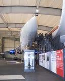 Verdrag - Brits-Frans supersonisch passagiersvliegtuig in M royalty-vrije stock afbeeldingen