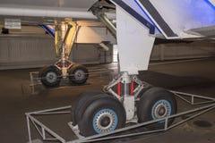 Verdrag - Brits-Frans supersonisch passagiersvliegtuig in M stock foto's