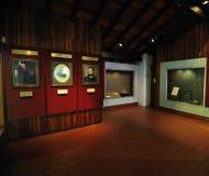 Verdrag van Waitangi Museum, Paihia stock afbeeldingen