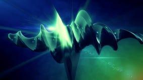Verdrehte Form-Hintergrund-Animation stock video