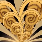 Verdrehte Spirale Lizenzfreies Stockbild