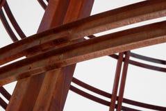 Verdrehtes Metall lizenzfreie stockfotos