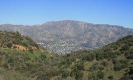 Verdugo szczytu panorama Zdjęcie Stock