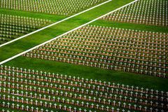 Verdun battlefield cemetery Royalty Free Stock Photography