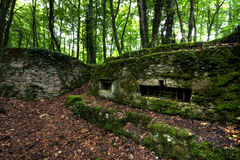 Verdun-Bunker Lizenzfreie Stockfotografie