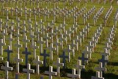 Verdun memorial cemetery Royalty Free Stock Photos