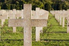 Verdun memorial cemetery Stock Image