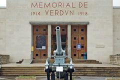 Verdun WW1 museum entrance Stock Photo
