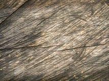 Verdunkelte alte Nahaufnahme des hölzernen Brettes Stockfoto