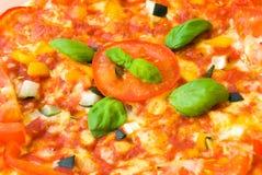 Verdura 2 della pizza Fotografia Stock