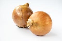 Verdura - cebollas Imagenes de archivo
