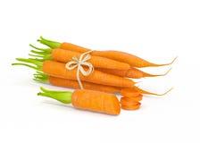 Verdura de la zanahoria Imagen de archivo