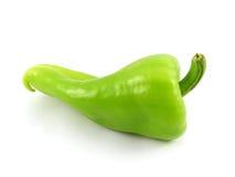 Verdura del pepe verde Fotografia Stock Libera da Diritti